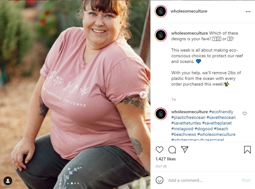 Instagram Shopping - Wholesome Culture
